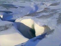 Noche polar Fotos de archivo libres de regalías