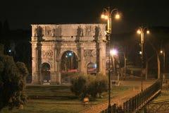 Noche Roma Fotografía de archivo