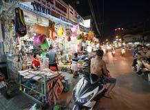 Noche Saigon Fotos de archivo libres de regalías