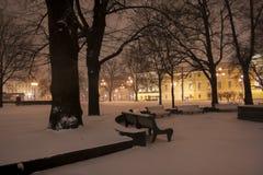 Noche St Petersburg Fotos de archivo libres de regalías