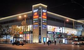 Noche Tallinn Fotografía de archivo libre de regalías