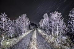 Noche tempestuosa Imagen de archivo libre de regalías