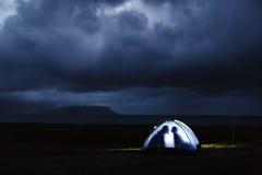 Noche tempestuosa Foto de archivo