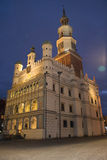 noche tirada de ayuntamiento Fotos de archivo libres de regalías