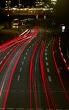 Noche urbana foto de archivo libre de regalías