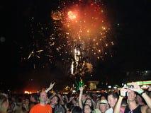 Noche Vieja 2009. Imagen de archivo libre de regalías