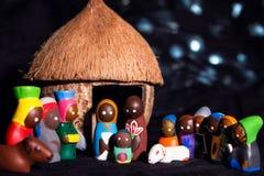 Nochebuena en estilo africano tradicional, cultural imagenes de archivo
