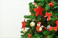 Nochebuena y muñeco de nieve con las guirnaldas y las luces Imagenes de archivo