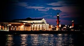 Noches blancas, St Petersburg foto de archivo