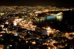 Noches de Acapulco Imágenes de archivo libres de regalías