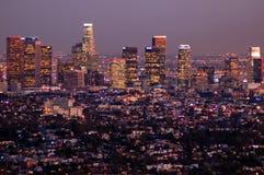 Noches de Los Ángeles Imagenes de archivo