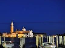 Noches de Venecia Fotos de archivo libres de regalías