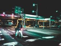 Nocna przejażdżka obraz stock