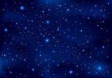 nocne niebo Zdjęcia Royalty Free