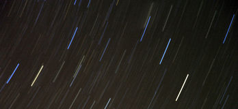 Nocne niebo Zdjęcie Stock