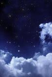 Nocne niebo Obrazy Royalty Free