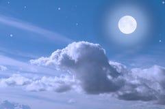 Nocne niebo Obraz Royalty Free