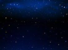 nocne niebo gwiaździsty Fotografia Stock