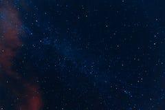 nocne niebo gwiaździsty Fotografia Royalty Free