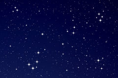 nocne niebo gwiazdy Zdjęcia Royalty Free
