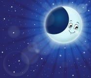 Nocne niebo tematu wizerunek 2 ilustracji