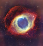 Nocne niebo z chmur gwiazd mgławicy tłem Elementy meblujący NASA wizerunek Obraz Royalty Free