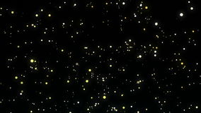 Nocnego nieba lśnienie gra główna rolę animację