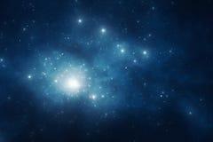 Nocnego nieba tło Obrazy Stock