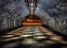 Nocny tunel Obraz Royalty Free