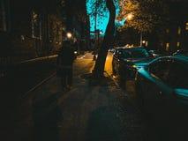 Nocny zakupy zdjęcie royalty free