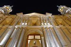 Nocturnal cathedral Royalty Free Stock Photography
