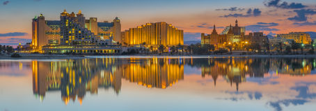 Free Nocturnal View On The Central Beach Of Eilat, Israel Royalty Free Stock Image - 64375806