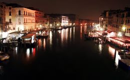 Nocturne in the Grand Canal Stock Image