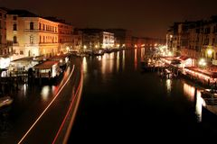 Nocturne in the Grand Canal Royalty Free Stock Photography