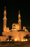 Nocturne of Mosque Stock Photos