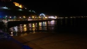 Nocy światła Obraz Royalty Free