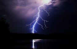Nocy światło Zdjęcie Stock