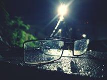 Nocy światło Zdjęcia Royalty Free