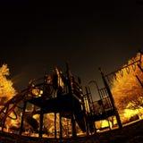 Nocy boisko Zdjęcie Royalty Free