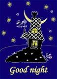 Nocy gwiazdy Obraz Royalty Free