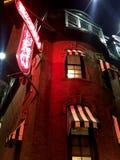 Nocy kawiarnia Zdjęcie Royalty Free