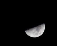 Nocy księżyc Zdjęcie Stock