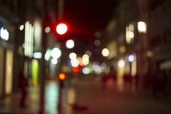 Nocy latarnie uliczne Obraz Stock
