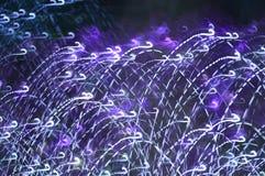 Nocy lekki abstrakcjonistyczny tło Zdjęcia Royalty Free