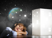 Nocy marzyć Zdjęcie Stock