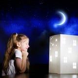 Nocy marzyć Zdjęcia Stock