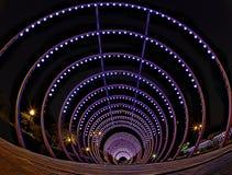 Nocy miasta park Zdjęcie Royalty Free
