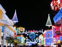 Nocy miasteczko Disney Fotografia Stock