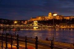 Nocy miasto Zdjęcie Royalty Free
