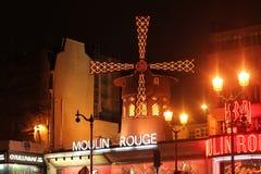 Nocy Moulin szminka Zdjęcie Royalty Free
